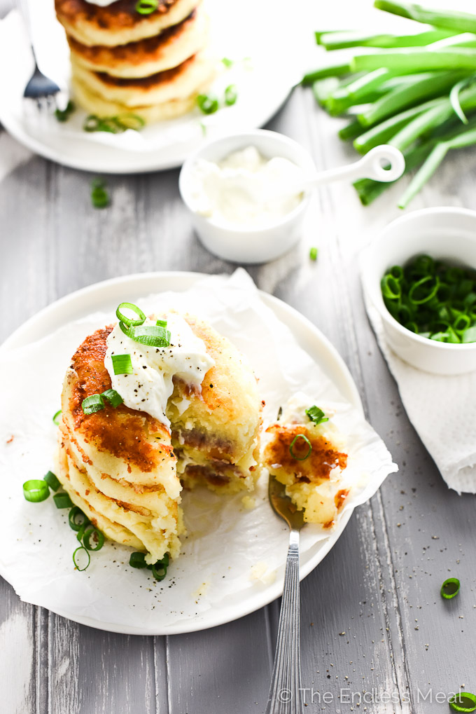 How To Make Potato Cakes With Leftover Mashed Potatoes
