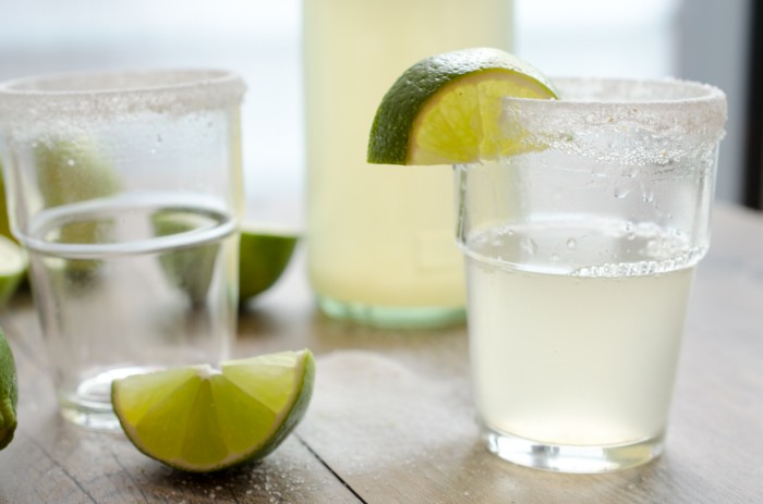 Fizzy Lime Margaritas