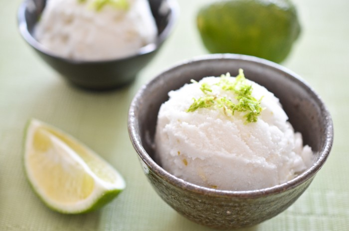 Lime Coconut Sorbet | The Endless Meal