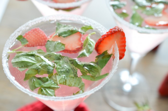 If you make this Strawberry Basil Mojito make sure you snap a pic and ...