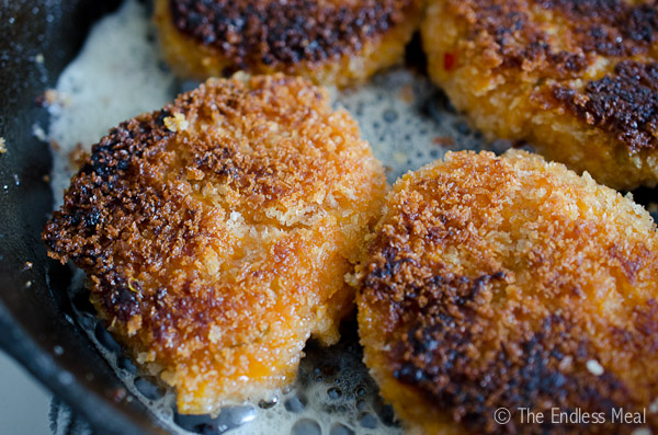 Crispy Sweet Potato Fritters