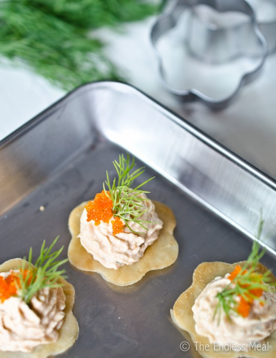 Bite Sized Appetizers: Smoked Salmon Mousse