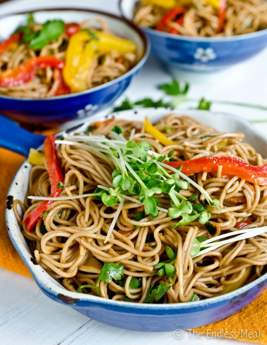 ... ginger lime tuna with buckwheat soba noodles recipe yummly ginger lime