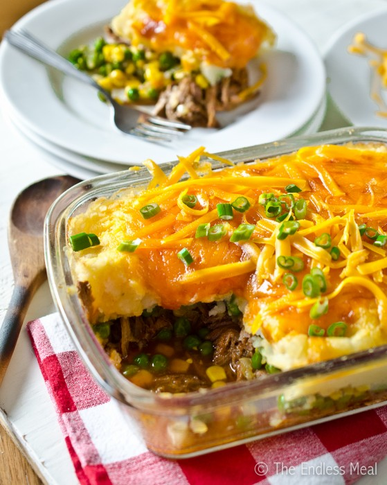 Pulled Pork Shepherd's Pie