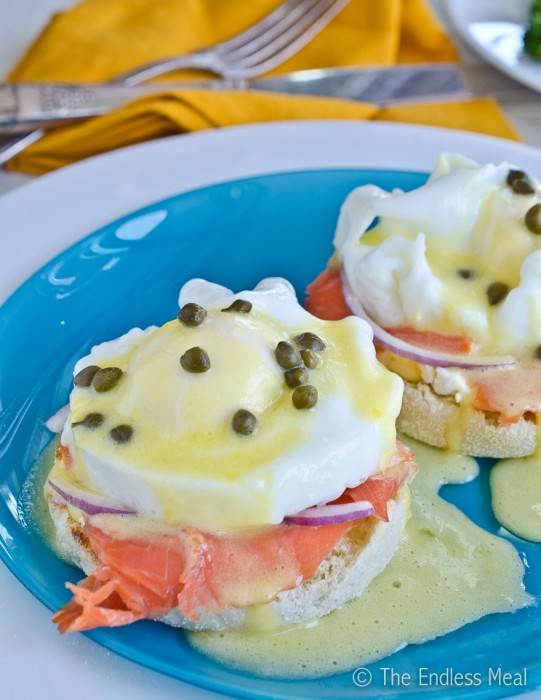 If you make these Smoked Salmon Eggs Benedict make sure to snap a pic ...