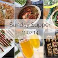 Sunday Supper :: 11.02.14 :: by The Endless Meal