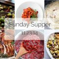 Sunday Supper :: 11.23.14 :: by The Endless Meal