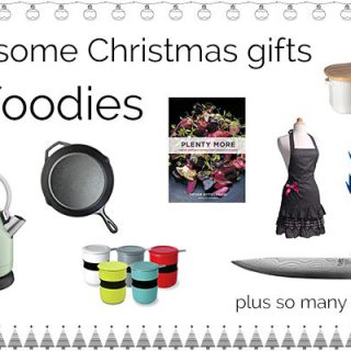 Awesome Christmas Gifts for Foodies | theendlessmeal.com