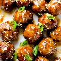 Sweet Hoisin Meatballs