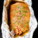 Slow Baked Asian Salmon