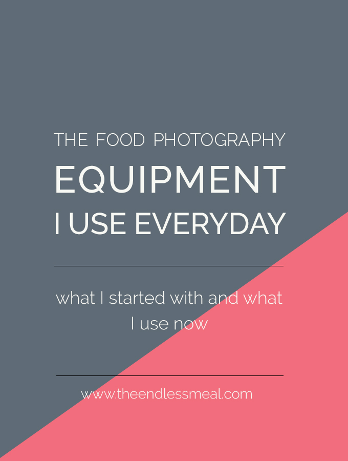 The Food Photography Equipment I Use