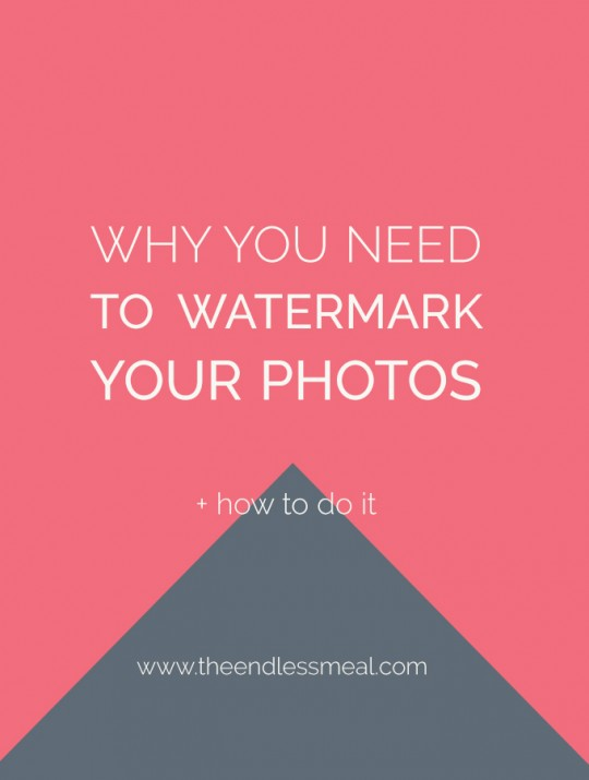 How To Watermark a Picture and Why You Should