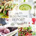 July Blog Income Report :: learn about the income that is made through the food blog The Endless Meal and the traffic it receives :: theendlessmeal.com