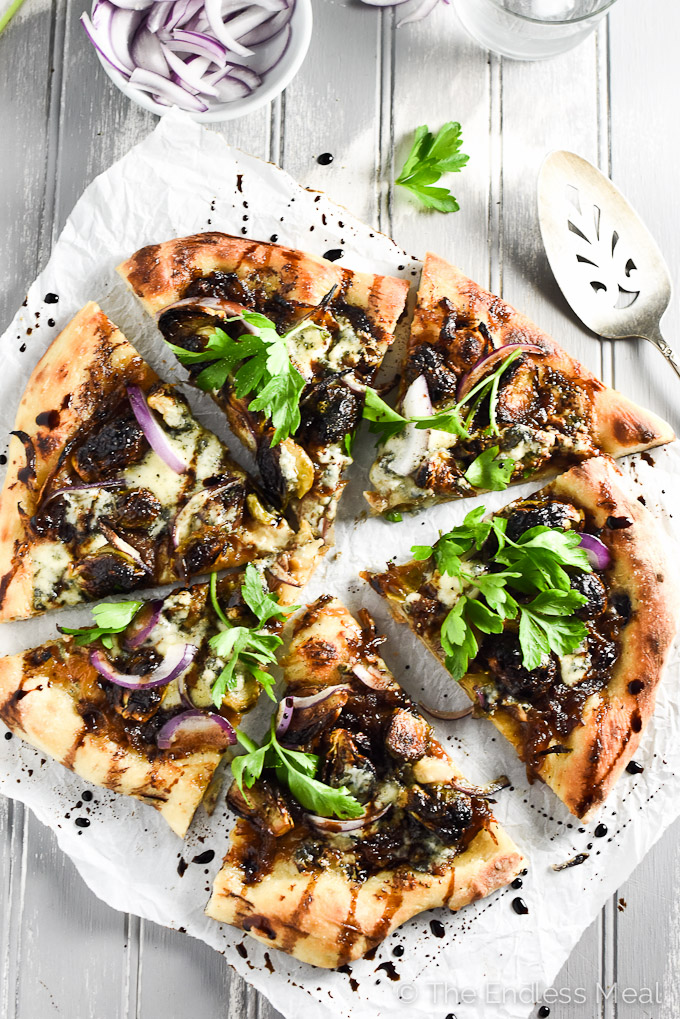 Cheese and Roasted Brussels Sprouts Pizza | The most delicious pizza ...