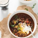 Guinness Spiked Irish Chili. | Not just for St. Patrick's Day. | theendlessmeal.com