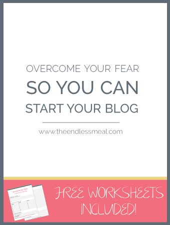 Overcome Your Fear So You Can Start Your Blog