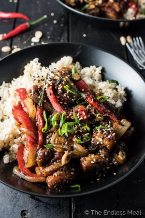 Spicy Kung Pao Chicken