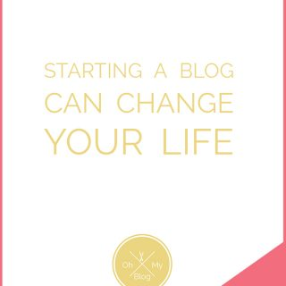 Starting a blog has completely changed my life, and I know it can do the same for you, too. If you want to really love your life, you want to start a blog. | theendlessmeal.com