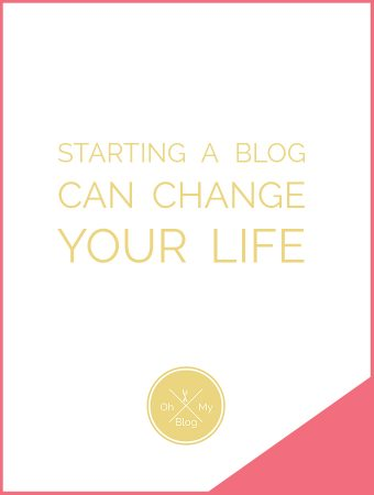 How Starting a Blog Can Change Your Life