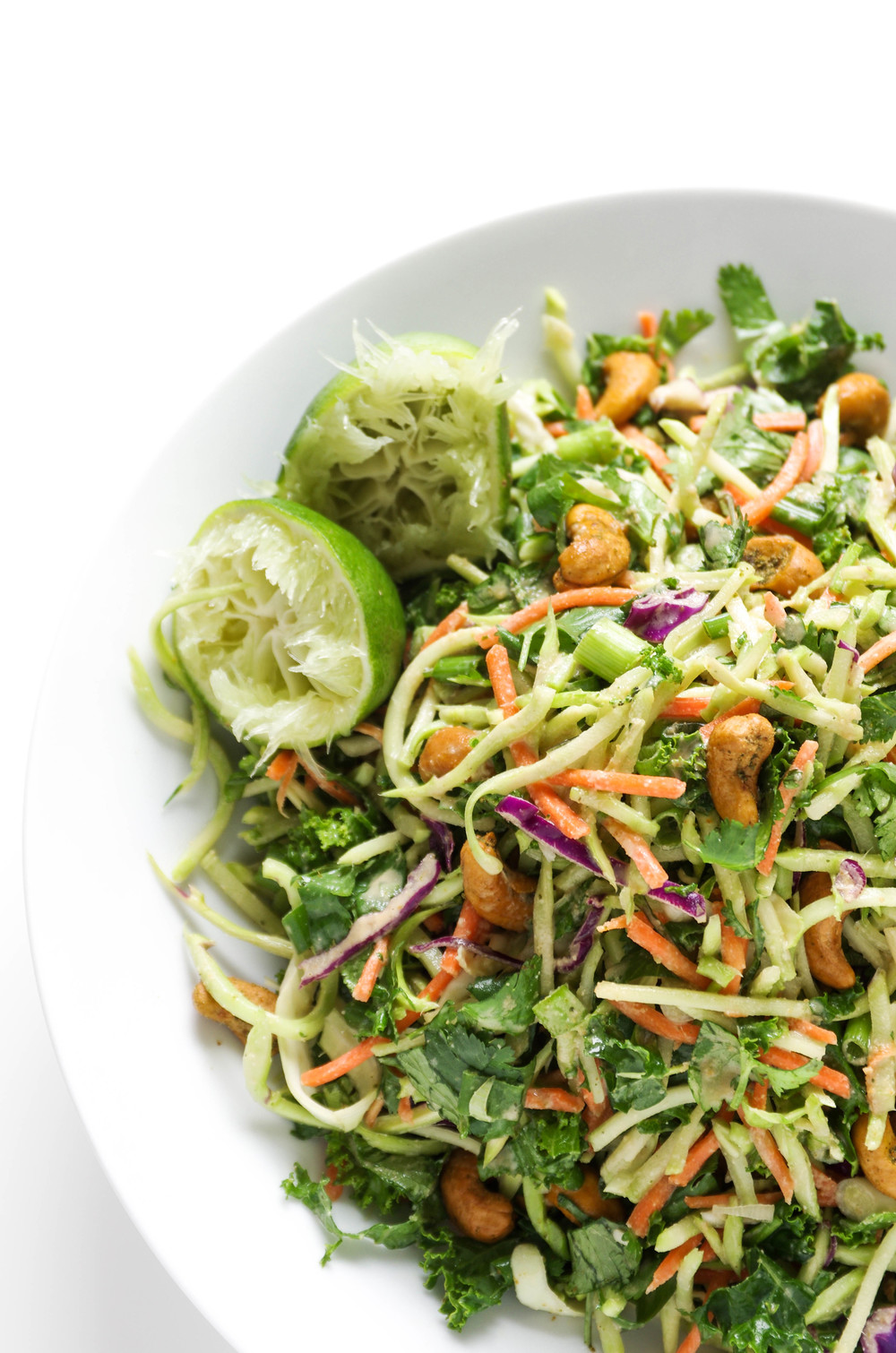 Thai Cashew Ginger Slaw by Coffee and Crayons | The 15 Best Healthy Side Dishes for Your Summer BBQs