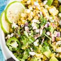 This Lightened Up Mexican Corn Dip recipe is big on flavor. Using Greek-style yogurt and avocado instead of mayo, this is as healthy as it is delicious. It makes a great side salad, too!   theendlessmeal.com