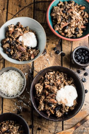 Chocolate Nut Superfood Granola