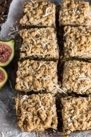 Must Make Coconut Fig Squares