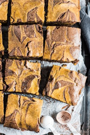 Sweet Harvest Pumpkin Brownies