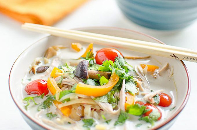 Thai Coconut Turkey Soup | theendlessmeal.com